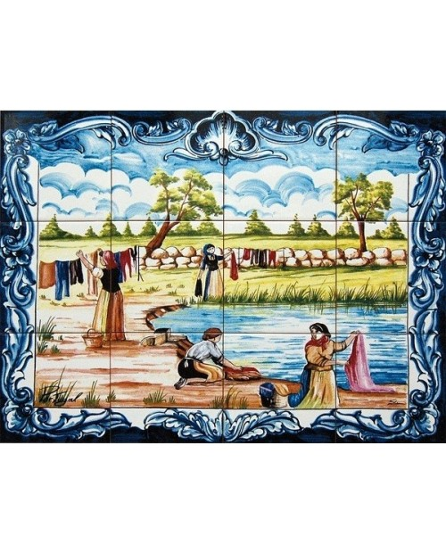 Tiles with the image of Country Landscape