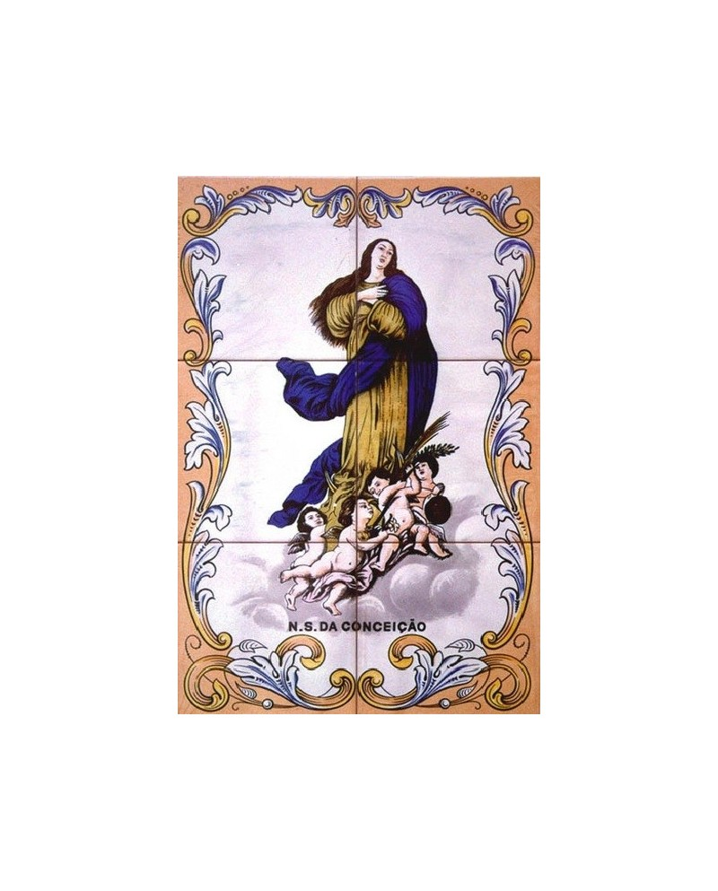 Tiles with image of Jesus Christ