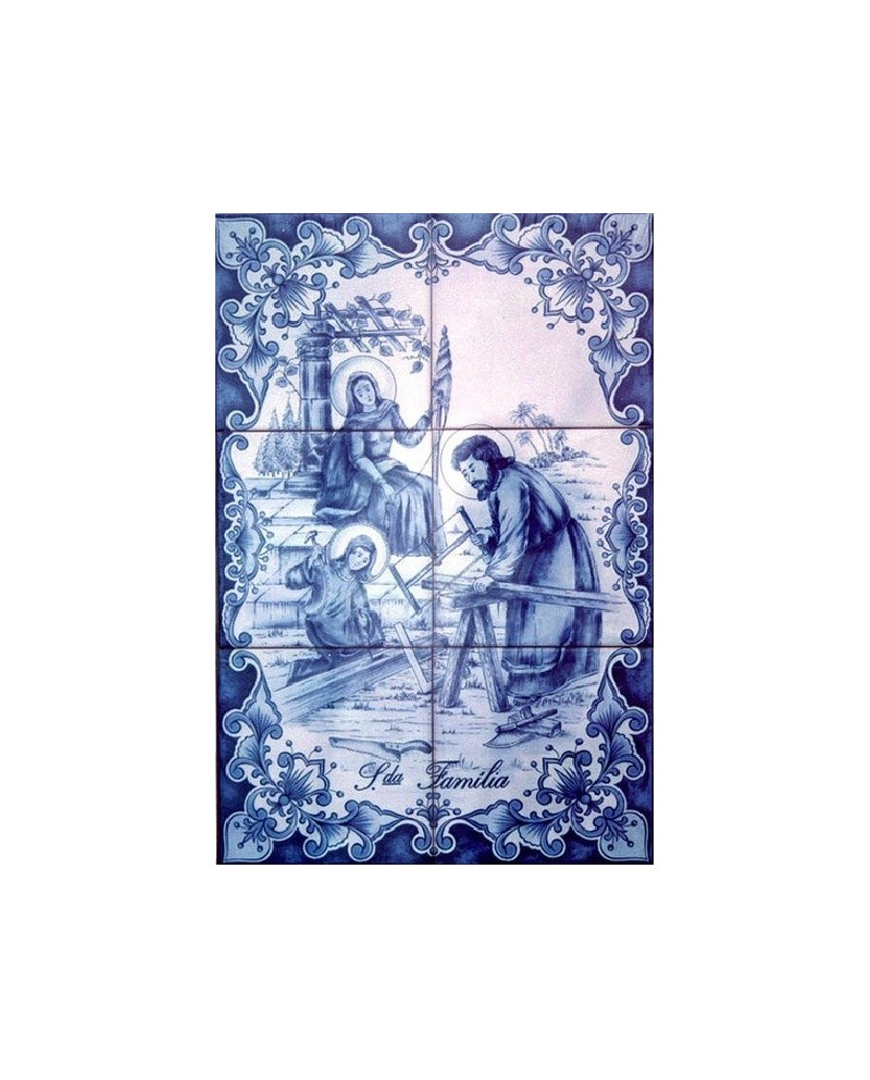 Tiles with image Sto. Antonio