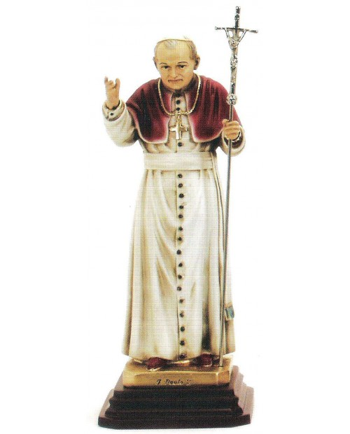Estatua del Santo Juan Pablo II