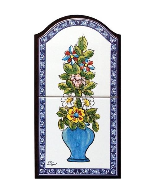 Azulejos con letras store online f tima - Azulejos con flores ...