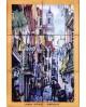 Tile com Imagem Lisbona - centro storico