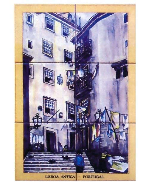 Carrelage cavec image Lisbonne