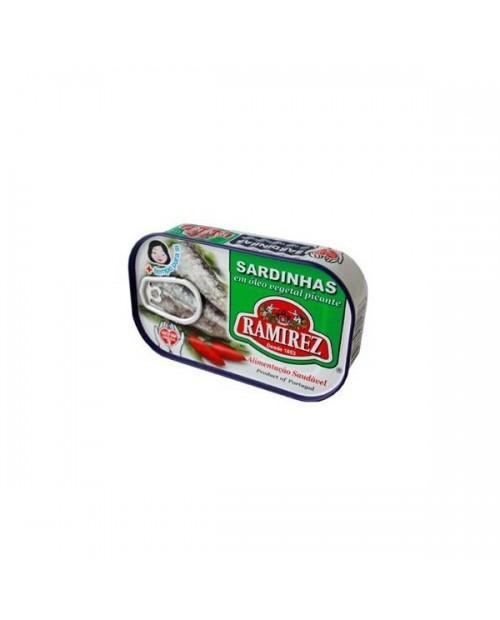"""Sardine in olio piccante """"Ramirez"""""""