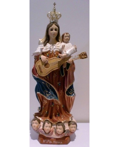 Estatua de Nuestra Señora de Alegria