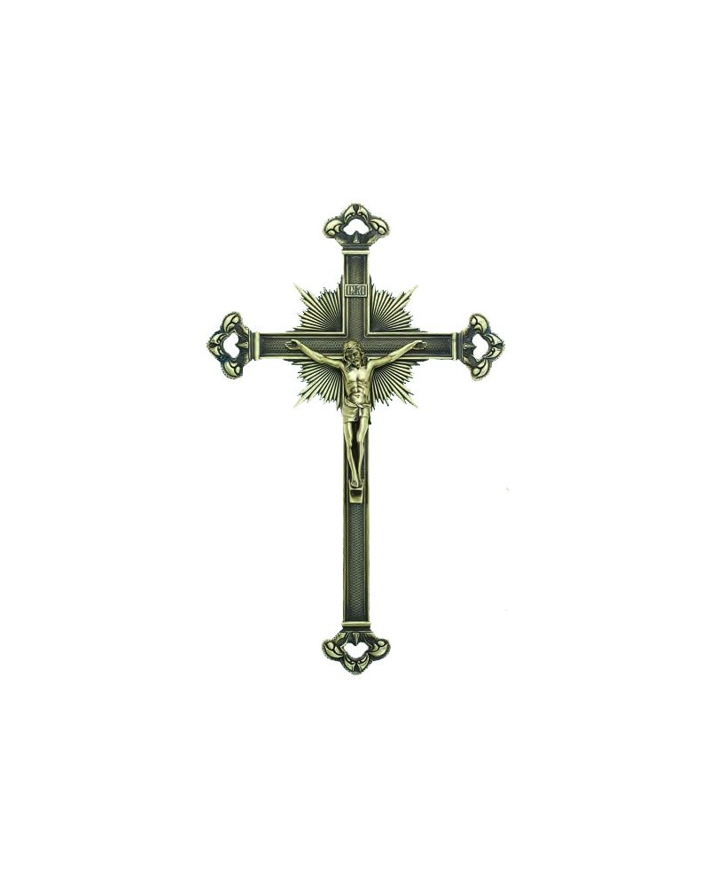 Crucifix metal bronze