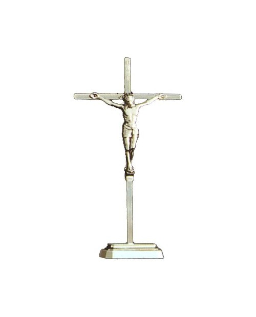 Crucifix chrome metal