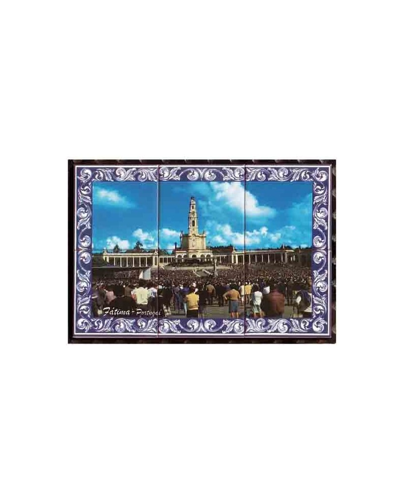 Tiles with the image of Fatima