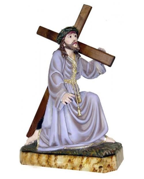 Imagem de madeira da Paixão de Cristo