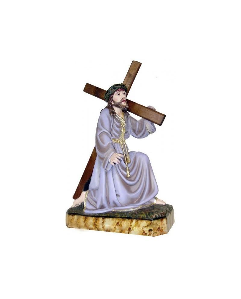 Estátua de madeira de Jesus Cristo