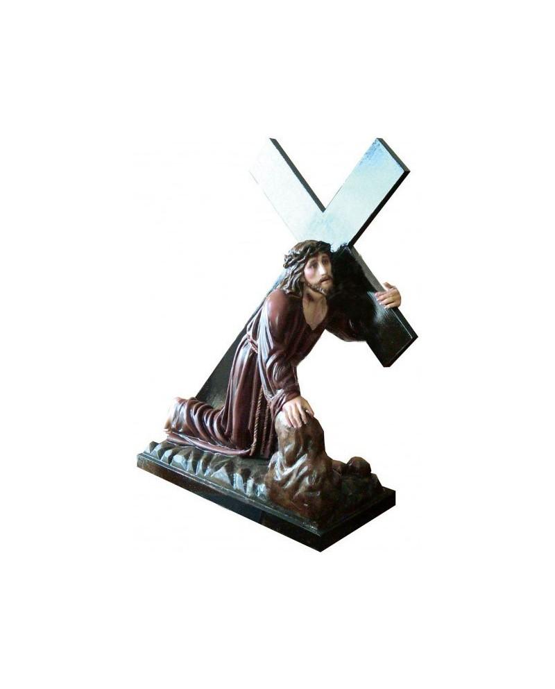 Estátua de madeira da Paixão de Cristo