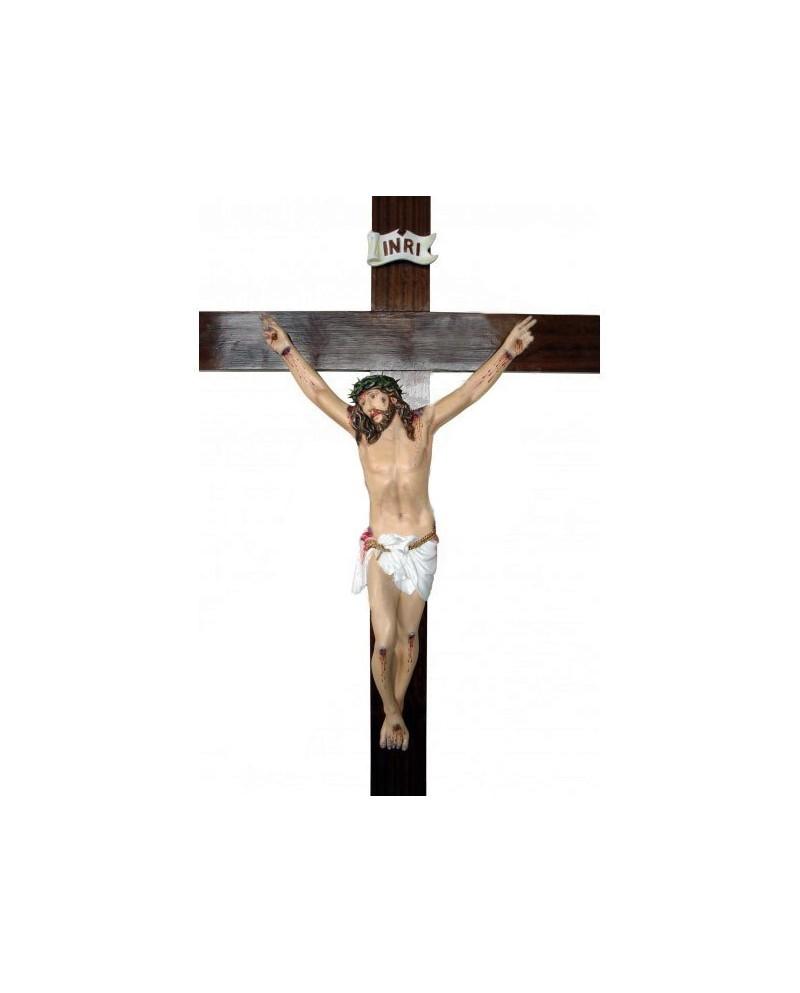 Statue en bois du Passion du Christ