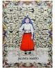 Tiles with the image of Jacinta Marto