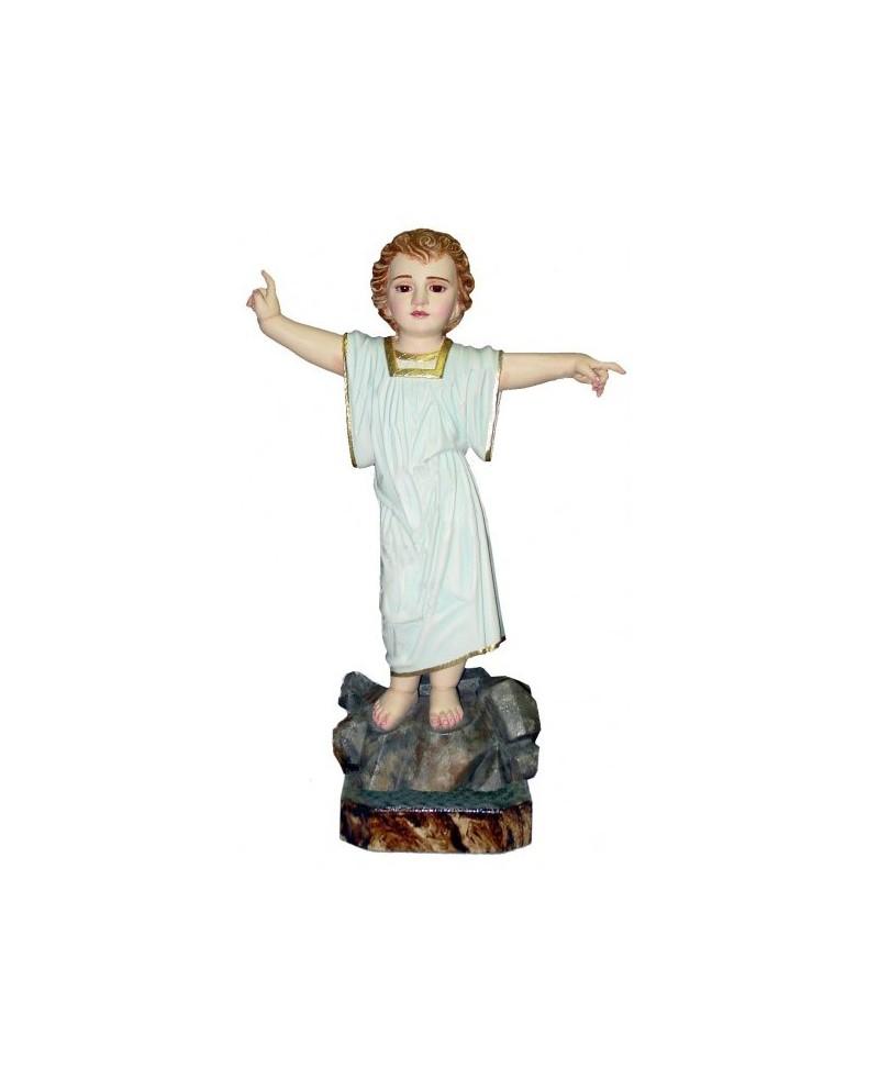 Estátua de madeira do Menino Jesus