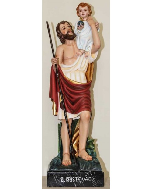 Statua in legno di San Cristovao