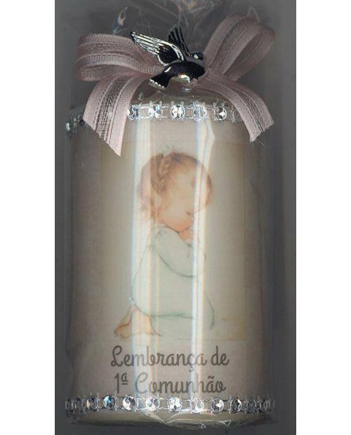 Decorative Candle for First Communion