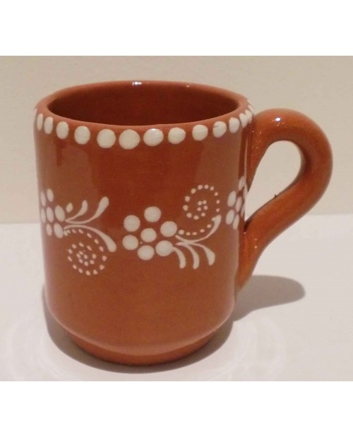 Traditional Portuguese clay mug