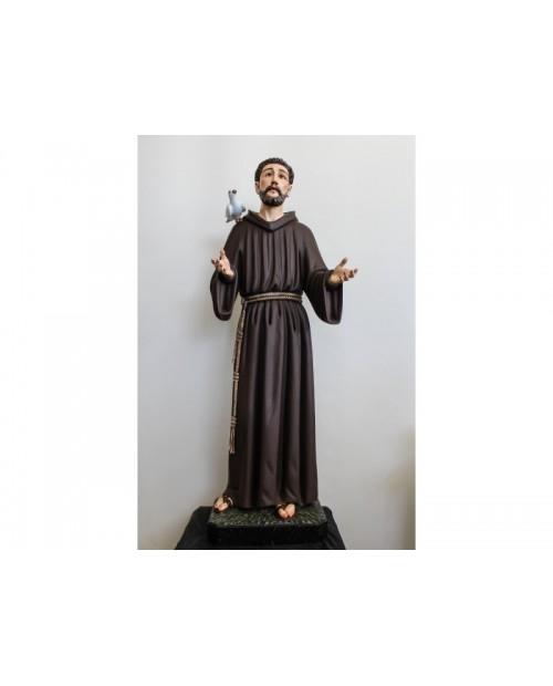 Estatua de madera de San Francisco