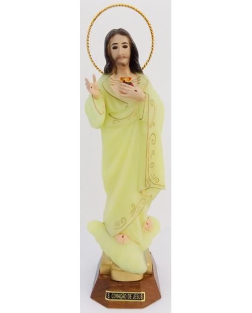 Estatua del Sagrado Corazón de Jesús