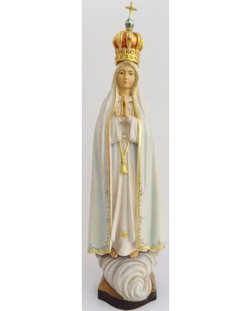 Statue en bois de Notre-Dame de Fatima