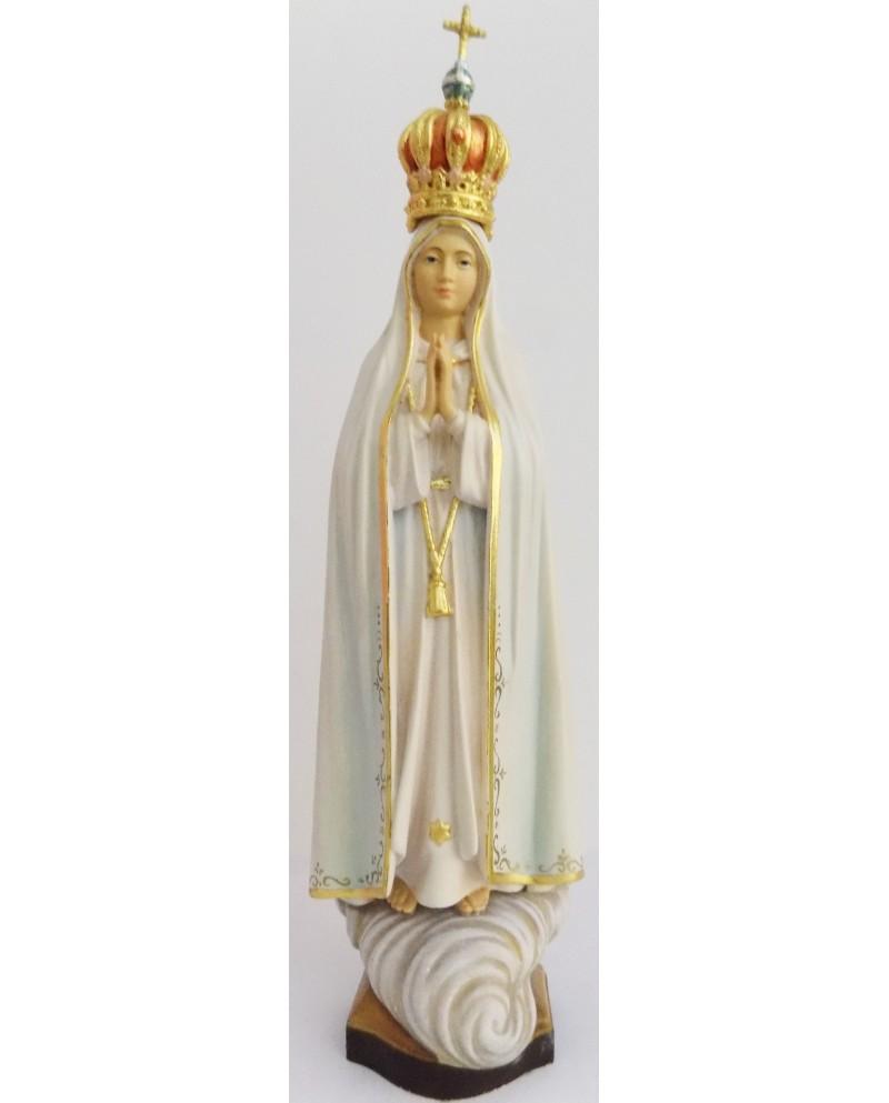 Estátua de madeira de Nossa Senhora Fátima