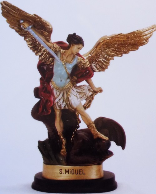 Statue of Angel St. Michael the Archangel