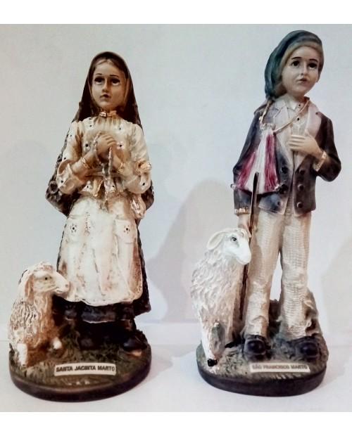 Statues des petits bergers de Fatima