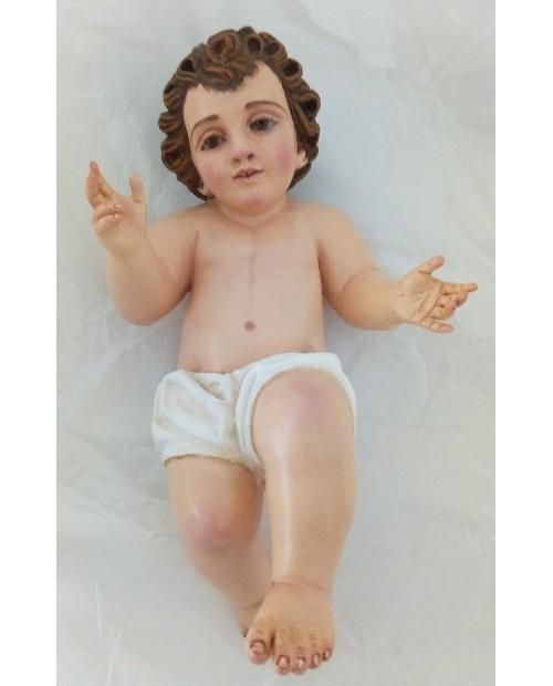 Estatua de madera do niño Jesús