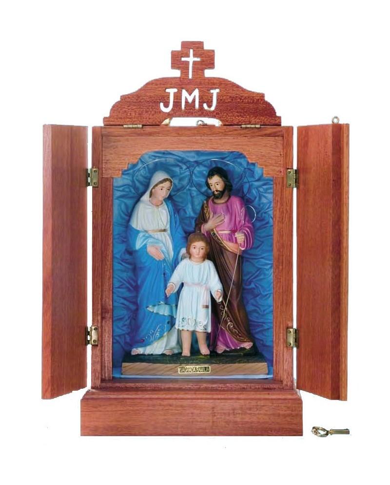 Oratorio di Legno con Sagrada Familia